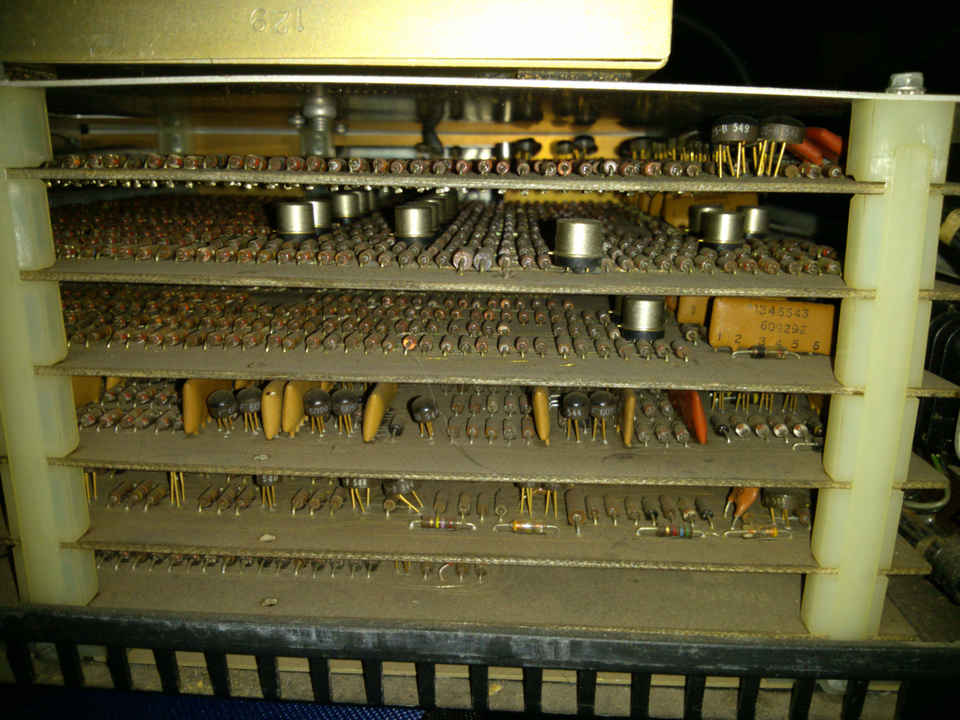 Make Logic Gates Out Of Almost Anything Hackaday Schematic Window Will Appear With The Built Gate Diagram My Smith Corona Marchant Cogito 240sr Calculator Uses Resistor Diode And Transistor It Dates To Around 1965
