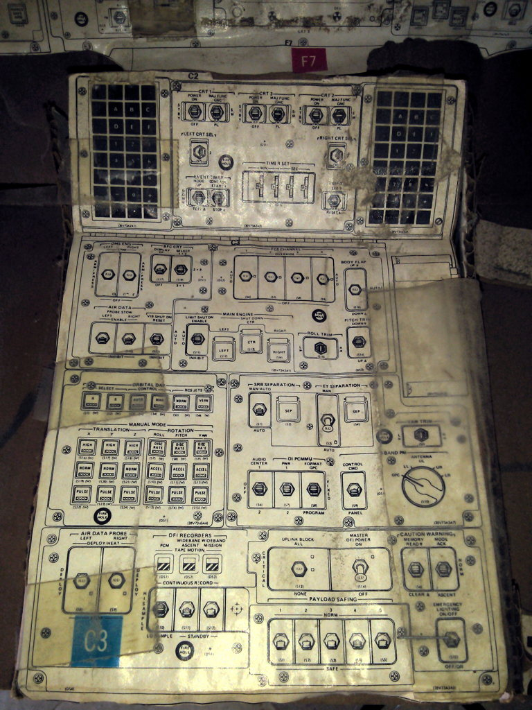 The Richfiles: Space Shuttle Cockpit Model Page